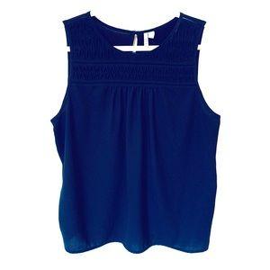 Plus Size Elle Black Dressy Sleeveless Top